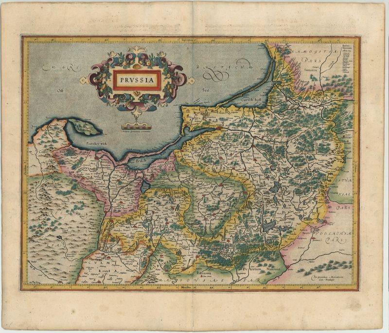 3199   Mercator, Gerard : Prussia  1595/1613