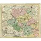 2304  Ottens: Nova et Accurata Hannoniae Com. 1740