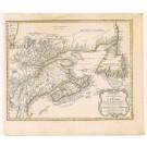 2308  Homann Erben: Partie Orientale de la Nouvelle France. 1755