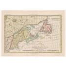 2311  Bonne, Rigobert L´Isle de Terre-Neuve, L´Acadie, ou la Nouvelle Ecosse, l´Isle St. Jean et la Partie Orientale de Canada.1782