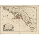 2318  Sanson, Nicolas: Coste de Dalmacie 1664