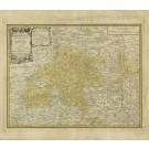 2320  Homann Erben: Principatus Brandenburgico - Culmbacensiis 1763