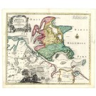 2341  Homann, Johann Baptist : Insulae et Principatus Rugiae nova t. 1720