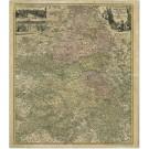 2346  Homann, Johann Baptist: Tabula Geographica Campaniae specialis in suas ficdictas Electiones accurata distincta 1720