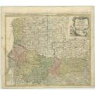 2350  Homann Erben: Carte du Gouvernm.General de P. 1746