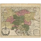 2358  Jaillot, Charles H.A.: Pars Altera Circuli Austriae, ou sont les Duches . 1700