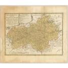 2371   Homann Erben: Regni Bohemiae Circulus Satecensis 1769