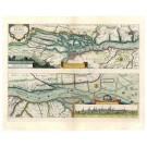 2382   Janssonius, Johannes: Nobilis Fluvius Albis 1650