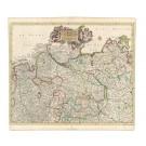 2388   Danckerts, Cornelis: Ducatus Luneburgensis ..., Pars Septentrionalis Germaniae 1700