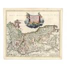 2389   Danckerts, Theodor : Ducatus Pomeraniae Tabula Generalis 1700
