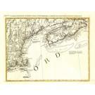 2393   Zatta, Antonio: L´Acadia, le Provincie di Sagadahook e Main, la Nuova Hampshire, la Rhode Island, e Parte di Massachusset e Connecticut. 1785