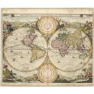 2397   Visscher, Nicolaus: Orbis Terrarum Tabula 1663