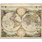R2397   Visscher, Nicolaus: Orbis Terrarum Tabula  1663