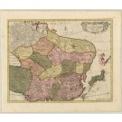 2406   Wit, Frederick deMagnae Tartariae, magni Mogolis Imperii, Japoniae et Chinae, nova descriptio 1680