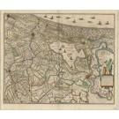 2418   Janssonius, Johannes: Rhinolandiae, Amstelandiae et circumjacent, aliquot territorioru, 1641