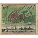 2424   Homann Erben: Des Heil.Röm.Reichs freye Handels-und Hansee Stadt Hamburg 1740