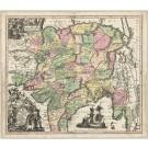 2431   Seutter, Matthias: Imperii Magnae Mogolis sive Indici Padschach 1730