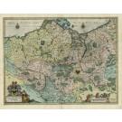 2438   Janssonius, Johannes: Brandenburgum Marchionatus cum Ducatibus Pomeraniae et Meklenburgi 1633