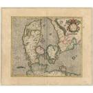 R2445 Mercator, Geradus: Daniae Regnum 1600
