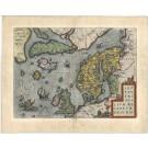 2449   Ortelius, Abraham: Septentrionalium Regionum Descrip. 1572