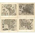2453   Hondius, Henricus und Janssonius, Johannes: America, Africa, Europa, Asia  ab 1631