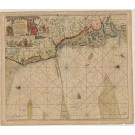 2457   Keulen, Johannes van: Paskaart vande Westkust van Jutland 1715