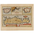 2458   Ortelius, Abraham: Creta lovis magni, medio iacet insula ponto. 1584