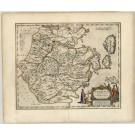 2464   Blaeu, Joan: Chekiang, Imperii Sinarum Provincia Decima 1655