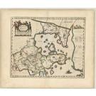 2465   Blaeu, Joan: Xantung, Imperii Sinarum Provincia Quarta 1655