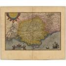 2469   Ortelius, Abraham: Provinciae, regionis Galliae, vera exactissimaque descr. 1595