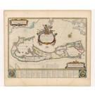 2470   Blaeu, Willem und Joan: Mappa Aestivarum Insularum alias Barmuda dictarum 1645