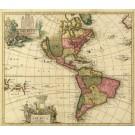 2485   Schenk, Petrus: America Seotentrionalis Novissima 1695