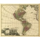 2486   Valk, Gerard: America Aurea Pars Altera Mundi ca.1700