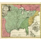 2490   Homann Erben: Amplissimae Regionis Mississipi Seu Provinciae Ludovicianae .. 1730