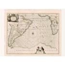 2497   Janssonius, Johannes: Mar di Aethiopia vulgo Oceanus Aethiopicus 1647