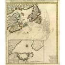 2509   Schenk, Petrus / Visscher, Nicolaus: Carte Nouvelle Contenant la Partie d'Amerique la plus Septentrionale 1745