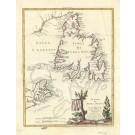 2514   Zatta, Antonio: Le Isole di Terra Nuova e Capo Breton Di Nuova Projezione 1778