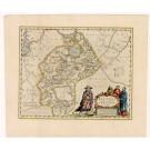 2517   Blaeu, Joan: Kiangsi, Imperium Sinarum Provincia Octava 1655