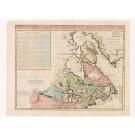 2525   Châtelain, Henri Abraham: Carte du Canada ou de la Nouvelle France 1719
