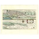 2528   Blaeu, Willem: Celeberrimi Fluvii Albis nova delineatio Auctore Christiano Mollero. Dat. 1628