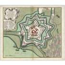 2531   Seutter, Matthias: Accurater Grundriß der Chur. Hanov. Stadt und Vestung Harburg 1730