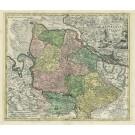 2561   Schenk, Petrus und Valk, Gerard Ducatus Bremae et Ferdae nova Tabula. 1710