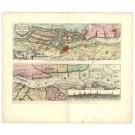 2571   Schenk, Petrus / Visscher, Nicolaus: Nobilissimi Albis Fluvii Ostia nec non Hamburgense et alia Territoria adjacentia. 1698