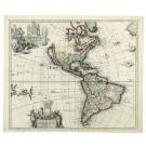 2591   Schenk, Petrus: America Septentrionalis Novissima. 1700