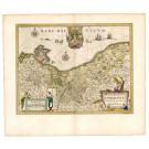 2602   Blaeu, Willem: Pomeraniae Ducatus Tabula Auctore Eilharo Lubino 1644