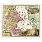 2605   Schenk, Petrus und Valk, Gerard: Provinciarum Persicarum Kilaniae nempe Chirvaniae Dagestaniae 1740