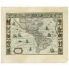2615   Blaeu, Willem: Americae Nova Tabula. 1645