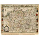 2627   Speed, John: A newe mape of Germany. 1626