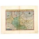 2630   Jode, Gerard de: Saxonum Regionis Quatenus Eius Gentis Imperium Nomenque olim patebat recens germanaque delineatio. 1593