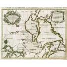 2632   Jaillot, Alexis-Hubert : Le Canada ou Partie de la Nouvelle France Dans l´Amerique Septentrionale, Contenant la Terre de Labrador, la Nouvelle France 1696